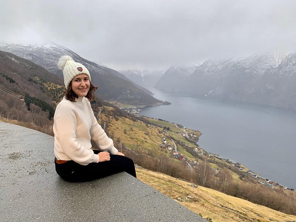 Carmen Bolufer, estudiante de Xàbia en Noruega