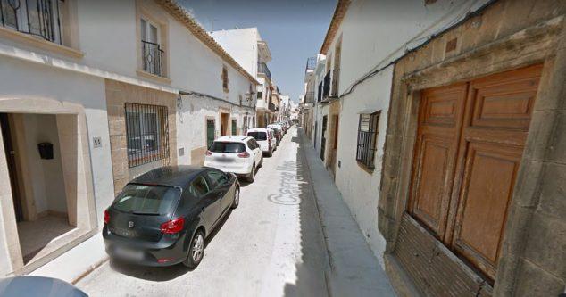Изображение: Carrer Nou в Xàbia