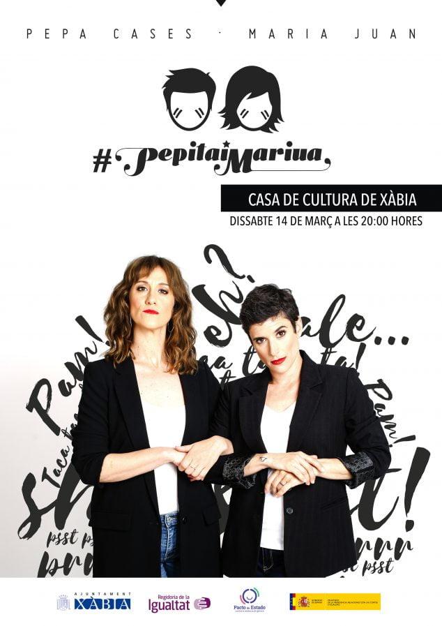 Imagen: Cartel de la obra Pepita i Marina