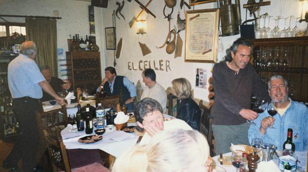 Imagen: Cata de vino en La Parrilla del Celler