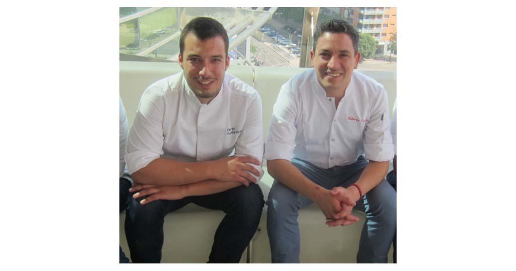 Chefs de Xàbia cocinan en directo