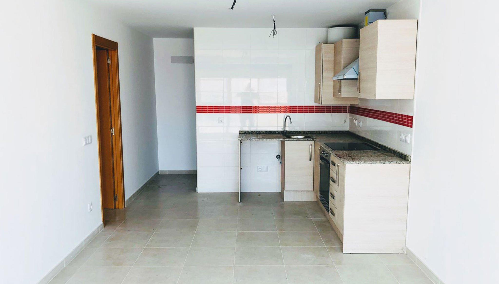 Cocina de un piso de una habitación en venta en Ondara – Mare Nostrum Inmobiliaria