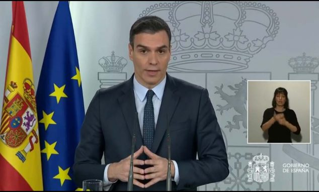Imagem: Aparência de Pedro Sánchez