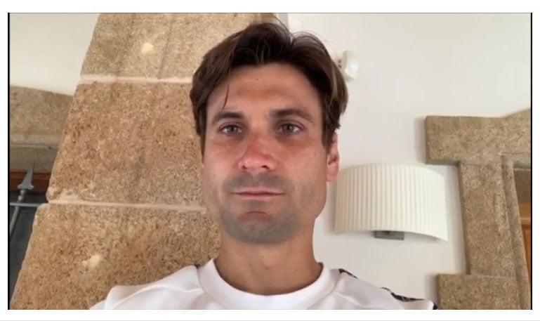 El tenista David Ferrer lanza el mensaje de #quédateencasa