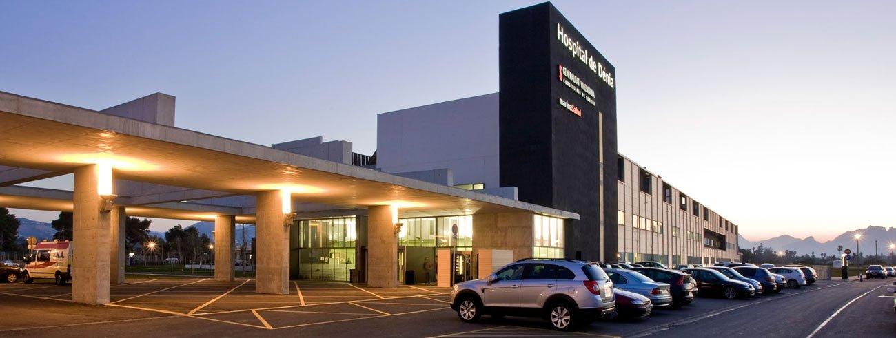 Exterior del Hospital de Dénia