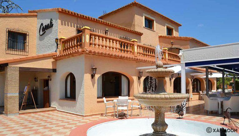 Vista exterior de Restaurante Canali
