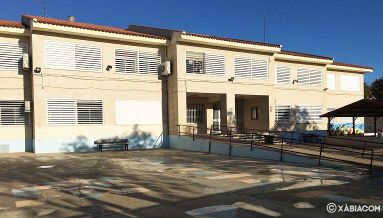 Fachada actual del Colegio Trenc d'Alba  de Xàbia