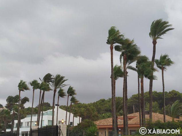 Imagen: Fuertes rachas de viento