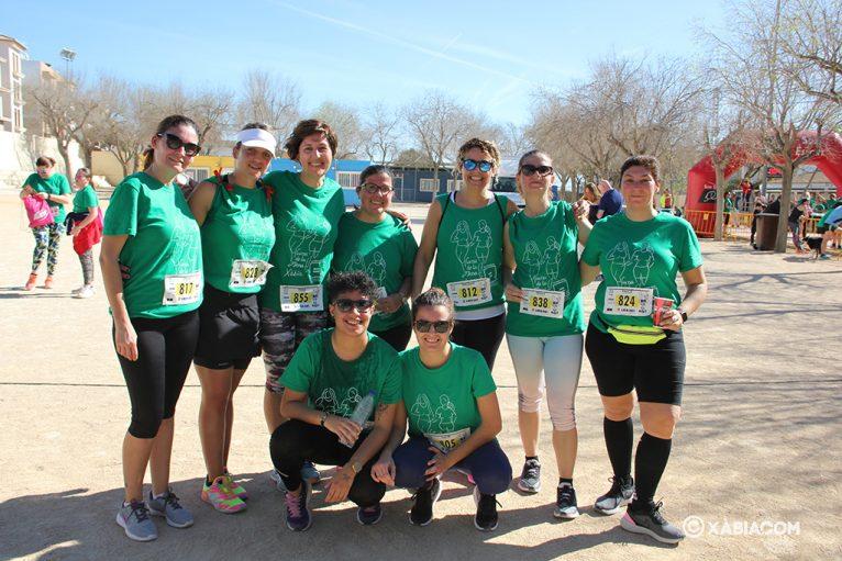 Grupo de mujeres participantes en la Cursa