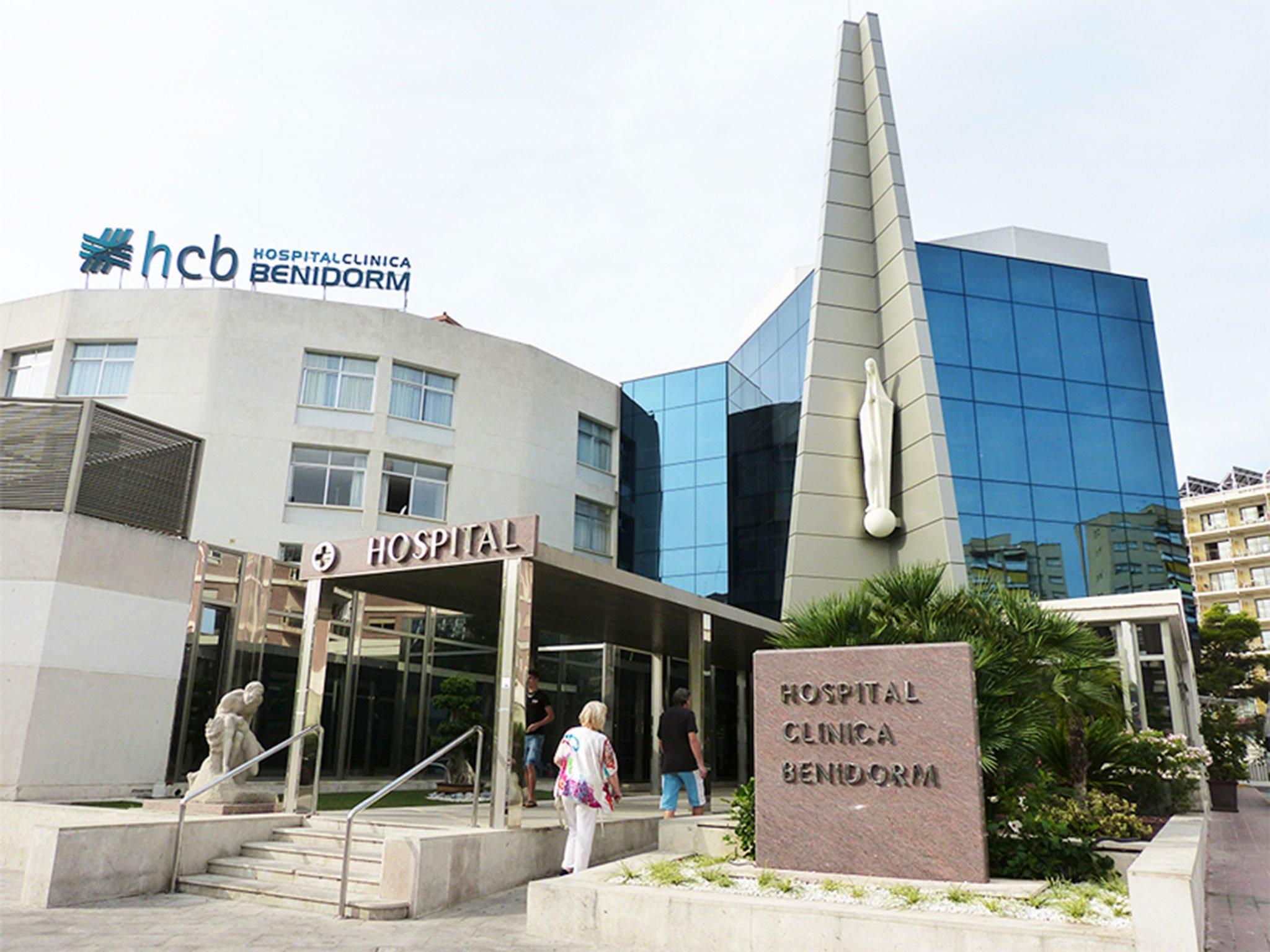 Fachada de Hospital Clínica Benidorm (HCB)
