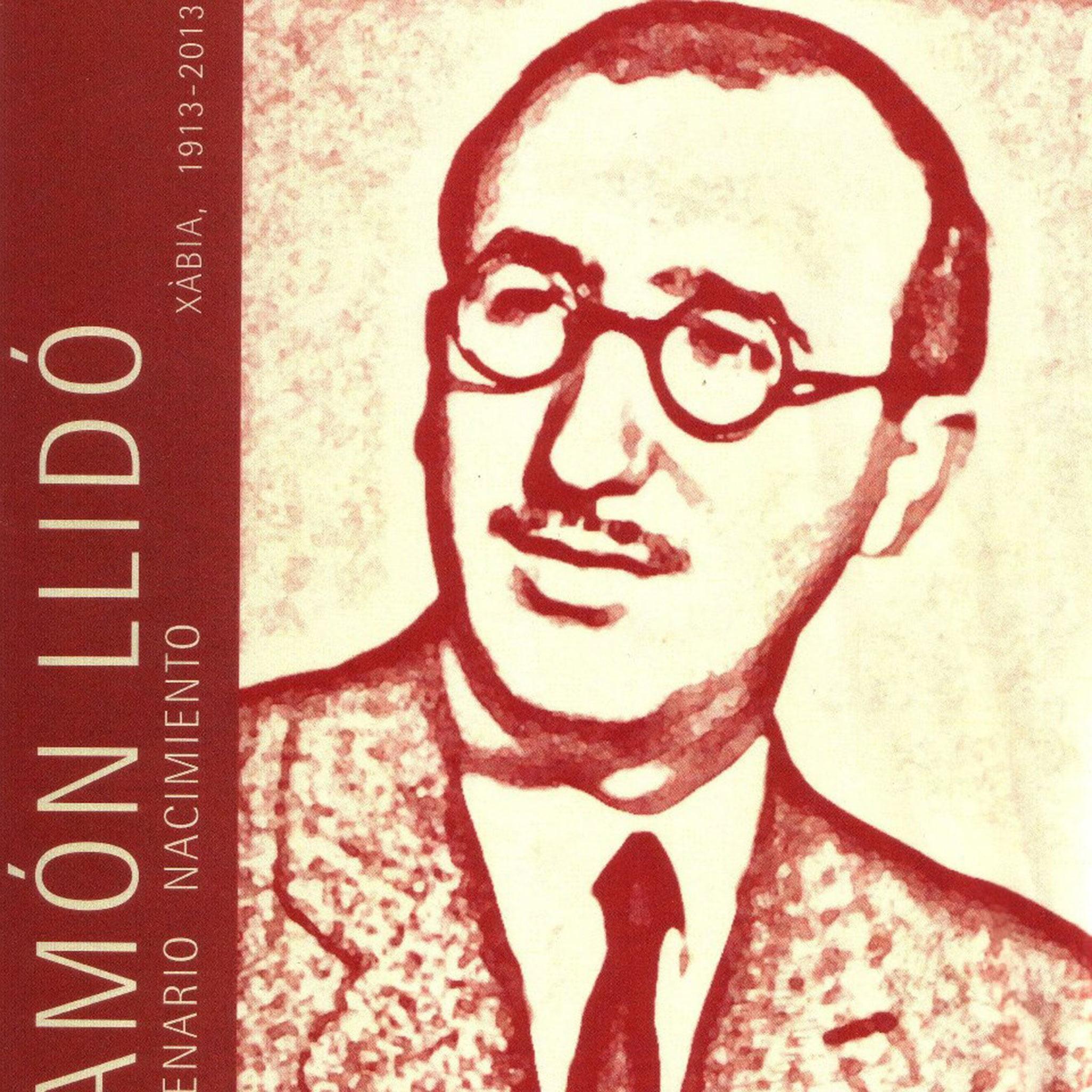 Imagen conmemorativa del centenario del nacimiento de Ramón Llidó