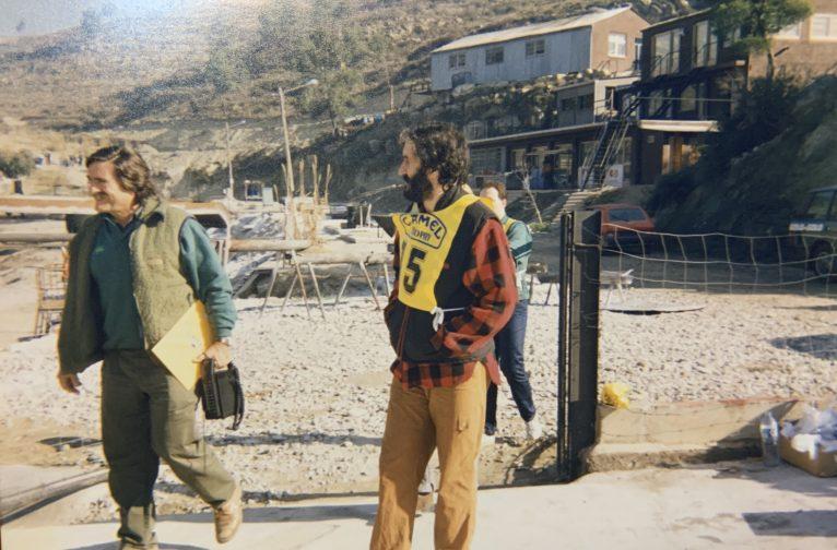 José Bellés con Miguel de la Cuadra Salcedo