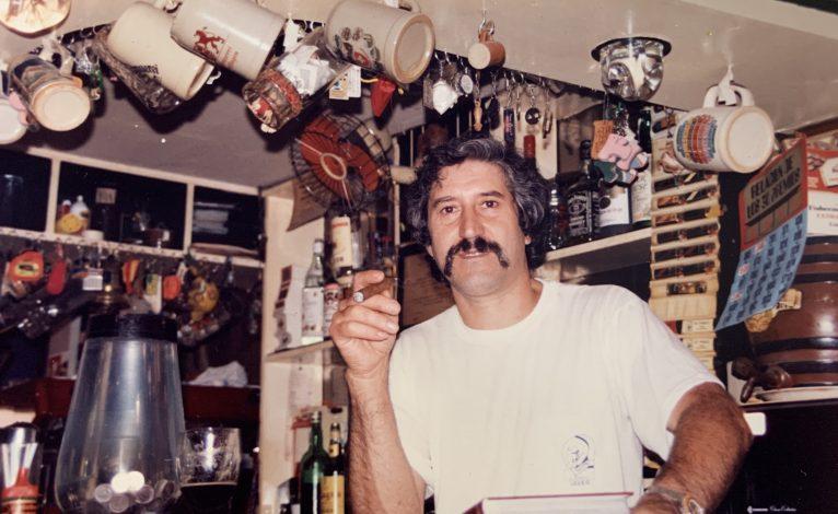 José Bellés en sus inicios al comprar el Finale