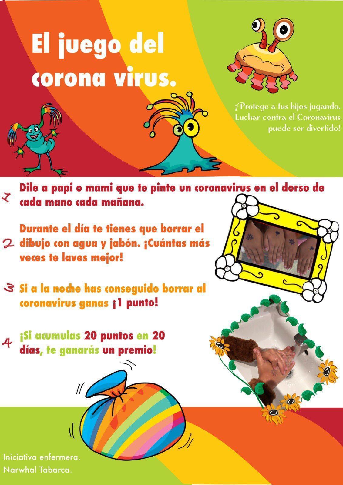 juego coronavirus