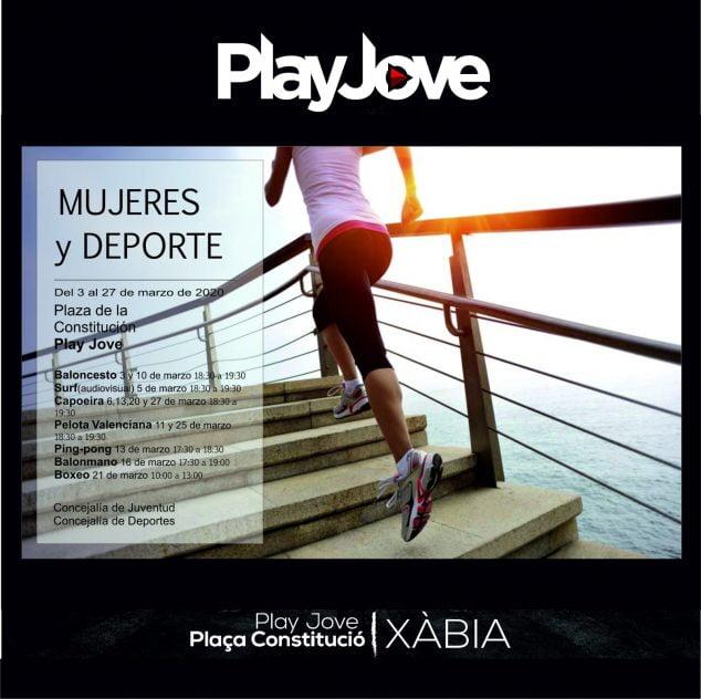 Imagen: Las mujeres y el deporte en Play Jove