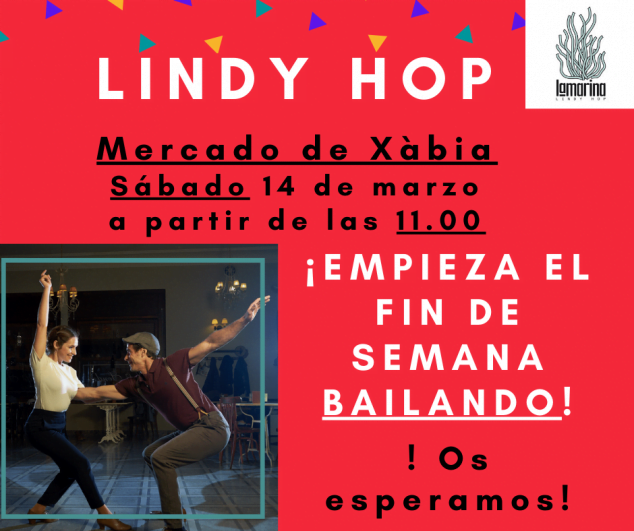 Image: Lindy Hop au Mercat de Xàbia