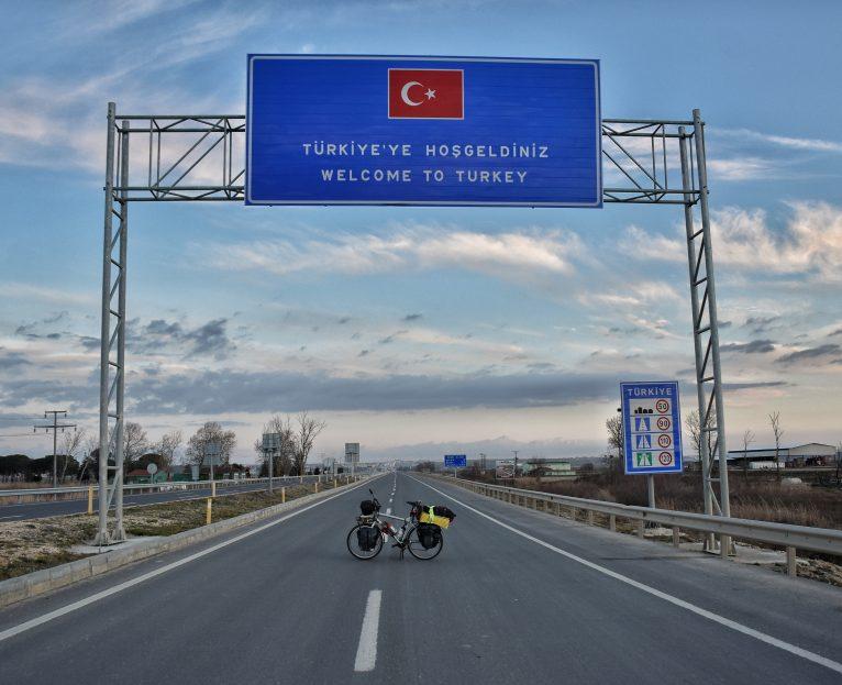 Lucas en su llegada a Turquía