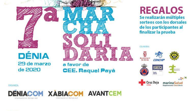 Marcha solidaria a favor del Raquel Payá