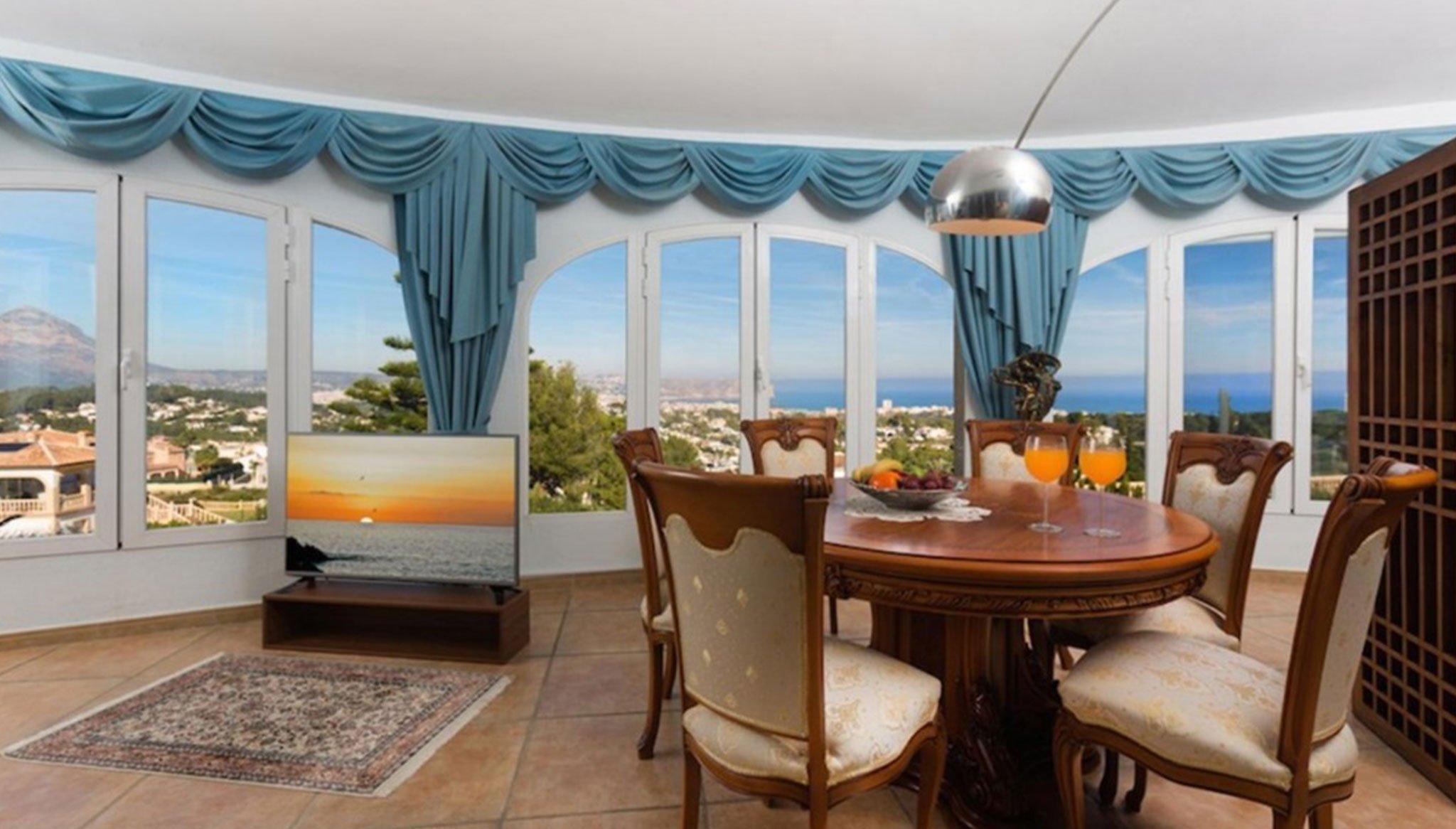 Mirador en una casa de alto standing en venta en Jávea – Terramar Costa Blanca
