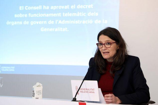 Imagen: Mónica Oltra, Consellera de Igualdad