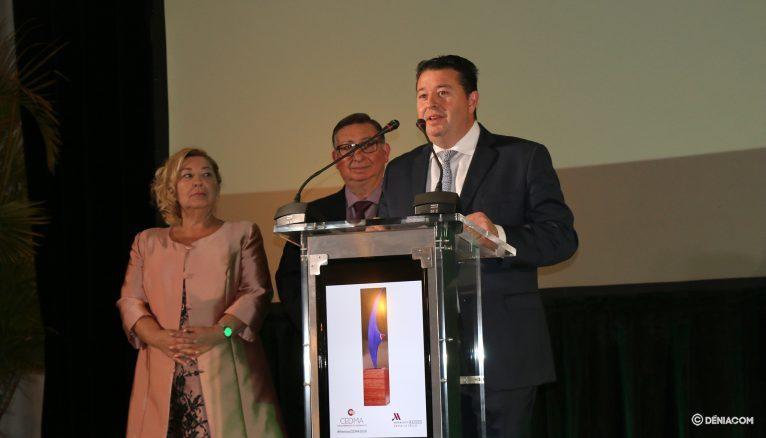 Parlamento de Restaurante Sur como premiado por CEDMA