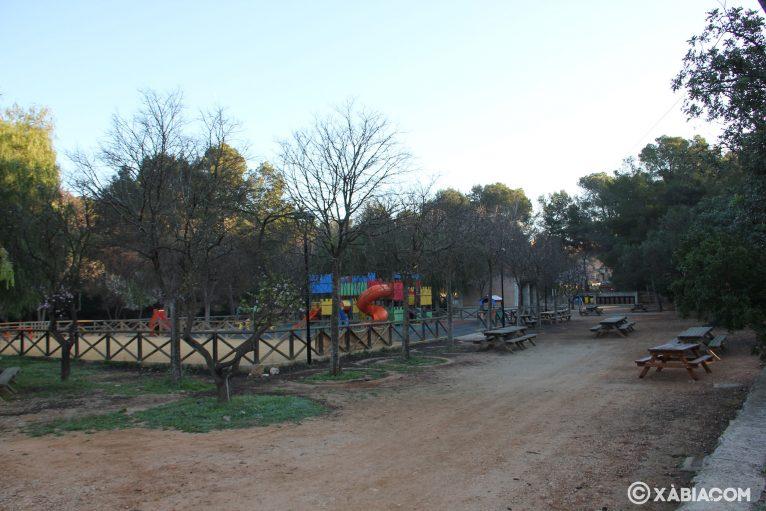 Parque Pinosol en Jávea