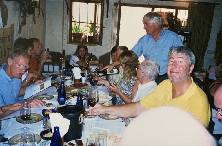 Participantes en una de las catas de la Parrilla del Celler