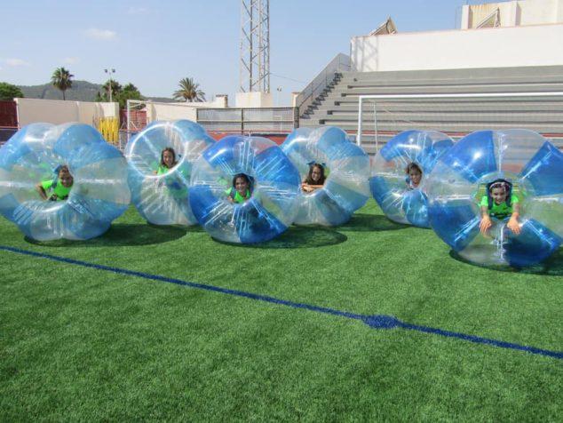 Imagen: Participantes en una edición de la Escuela Multideportiva Xàbia