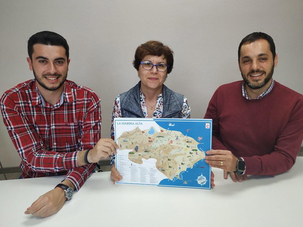 Presentación del mapa cultural de la Marina Alta