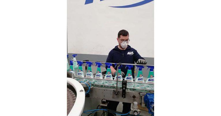 Producción de productos Asevi