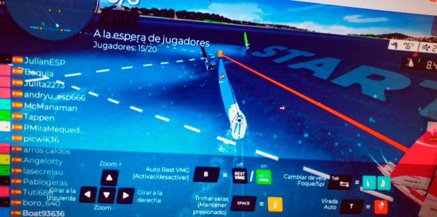 Bild: Virtuelle Rennen der CN Jávea