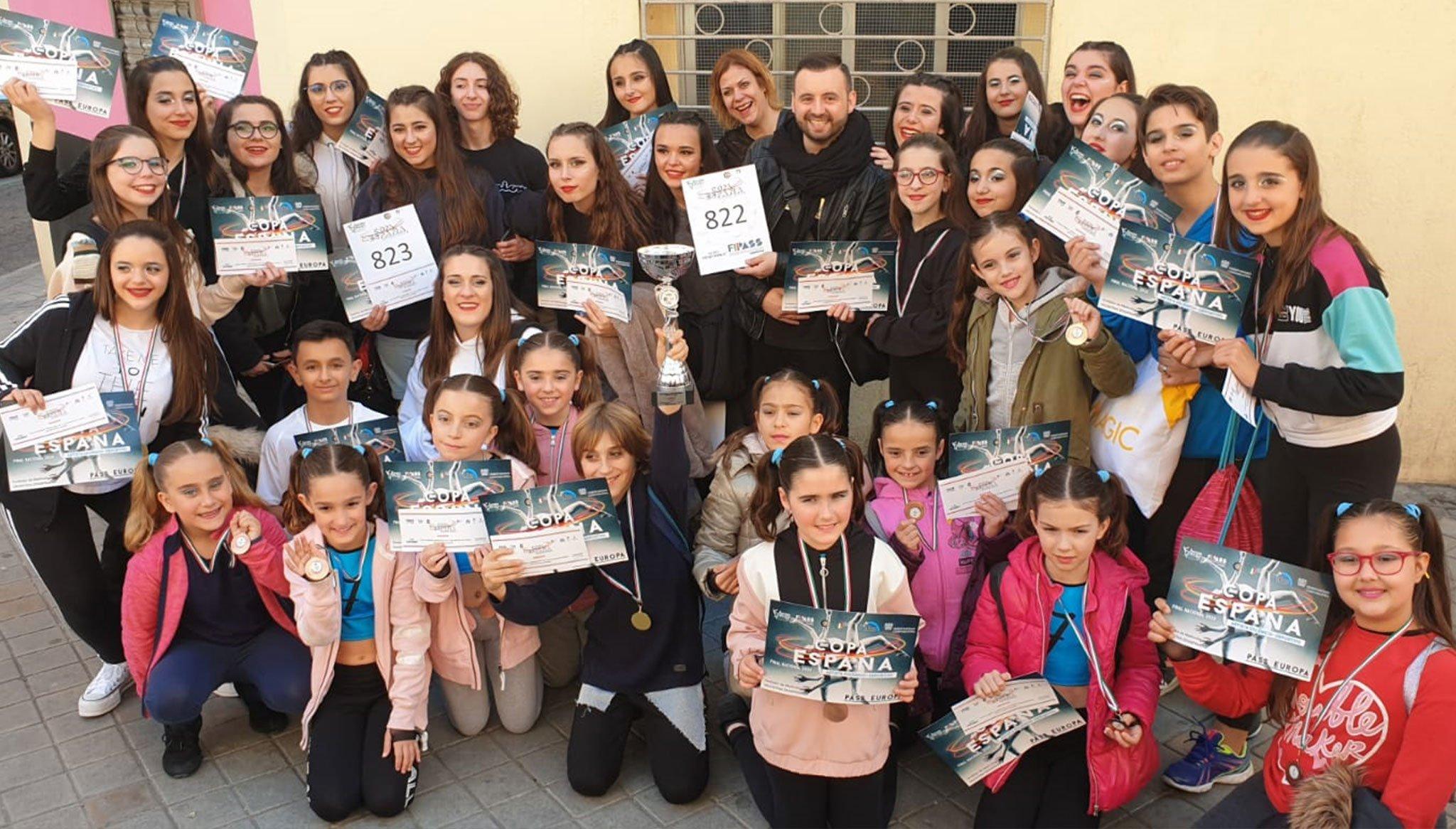 Éxito de la Dance Academy by Miguel Ángel Bolo de Centro Deportivo Dénia en el Campeonato de España