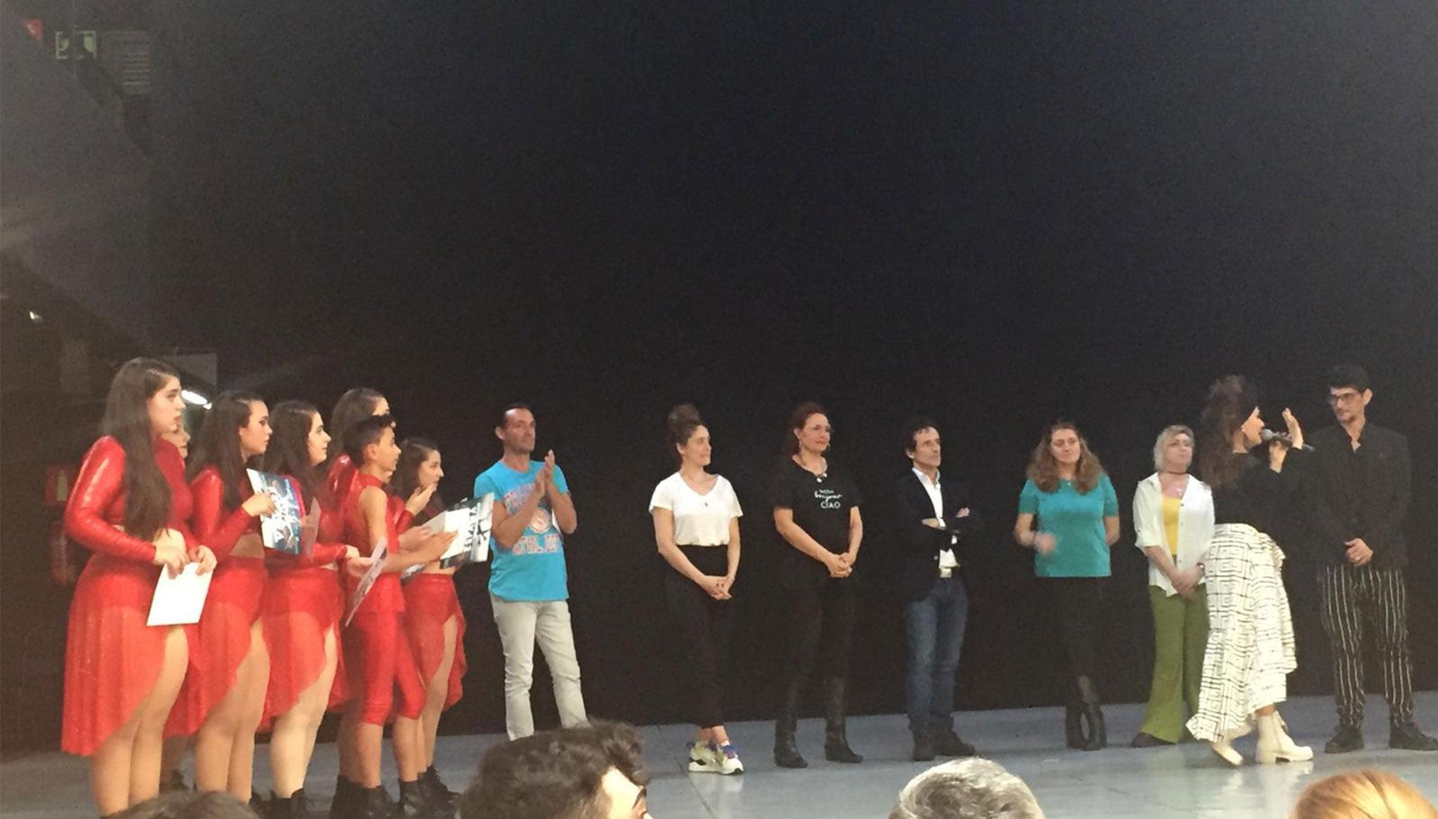 Gran actuación de la Dance Academy by Miguel Ángel Bolo de Centro Deportivo Dénia en el Campeonato de España