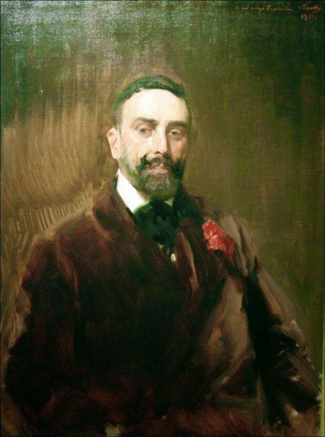 Imagen: Retrato del doctor González pintado por Joaquín Sorolla (Fuente: blog https://joaquin-sorolla.blogspot.com/)