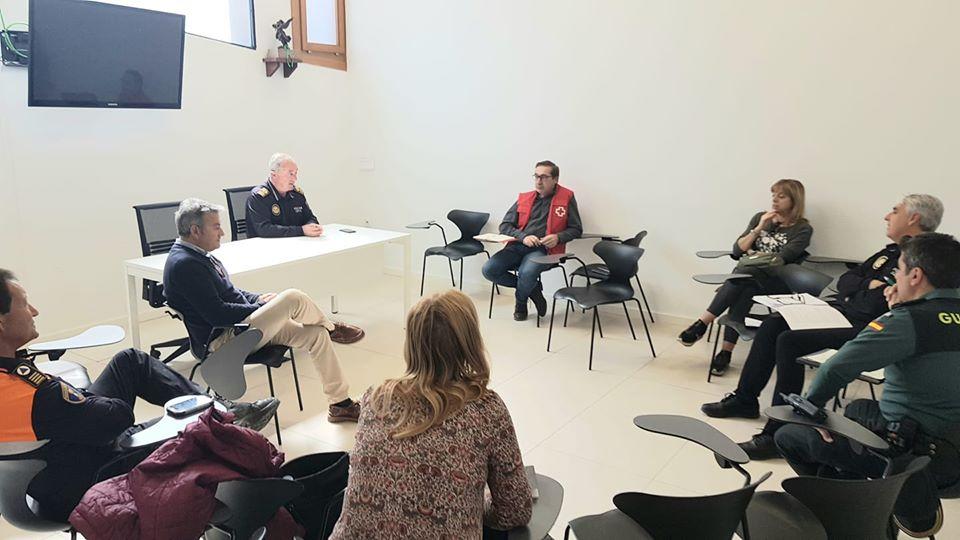 Reunión de coordinación en Xàbia
