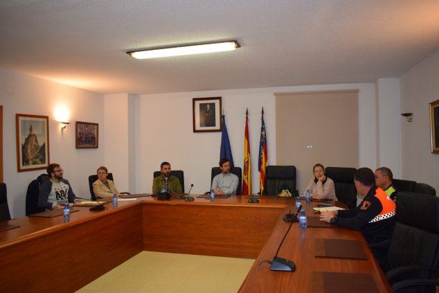 Imagen: Reunión gobierno de El Poble Nou de Benitatxell