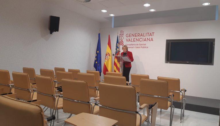 Rueda de prensa de Ana Barceló