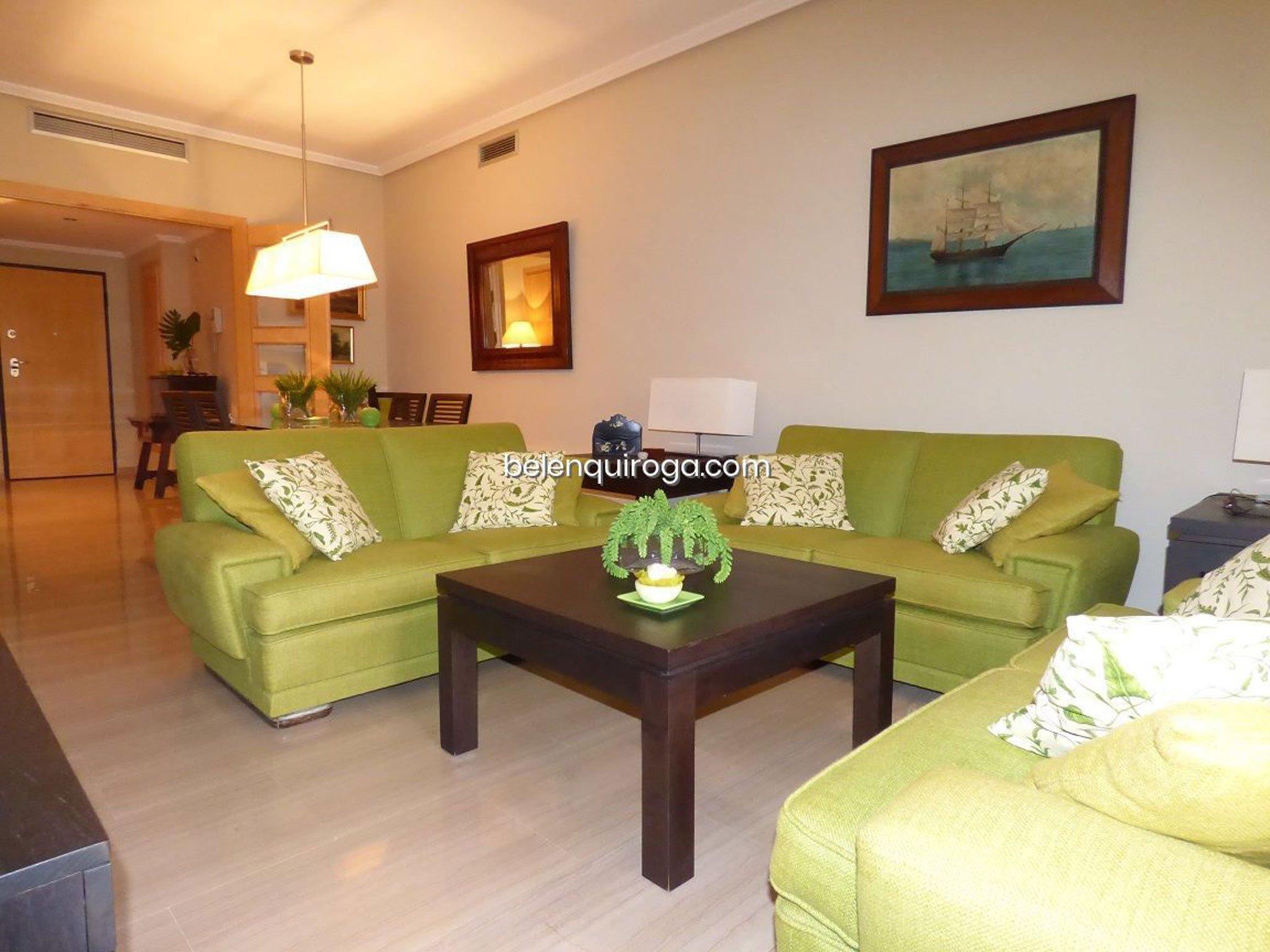 Salón de un adosado en venta en Jávea – Inmobiliaria Belen Quiroga
