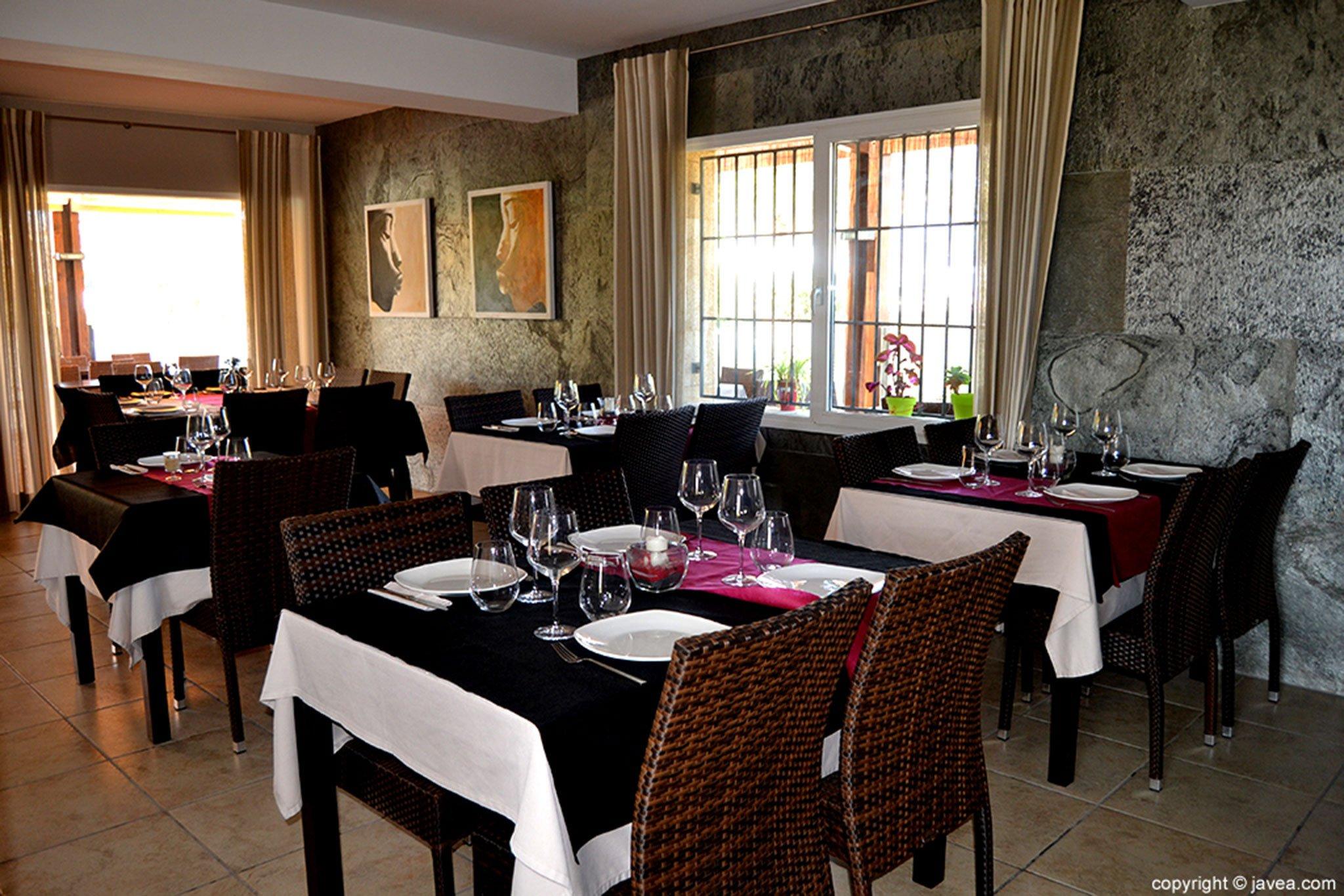Salón interior de Restaurante Nesfor
