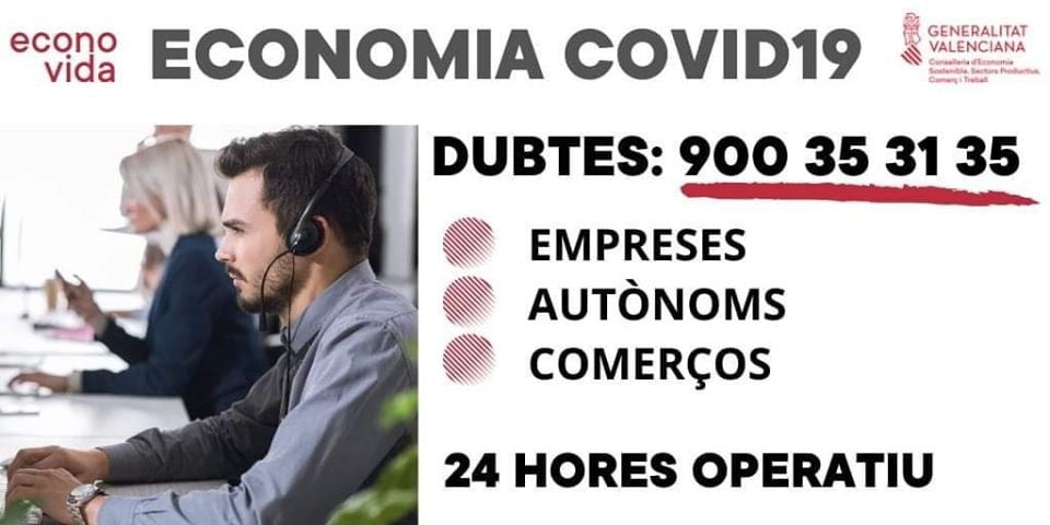 Teléfono habilitado desde economía