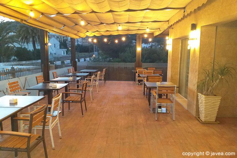 Terraza de Restaurante Nesfor