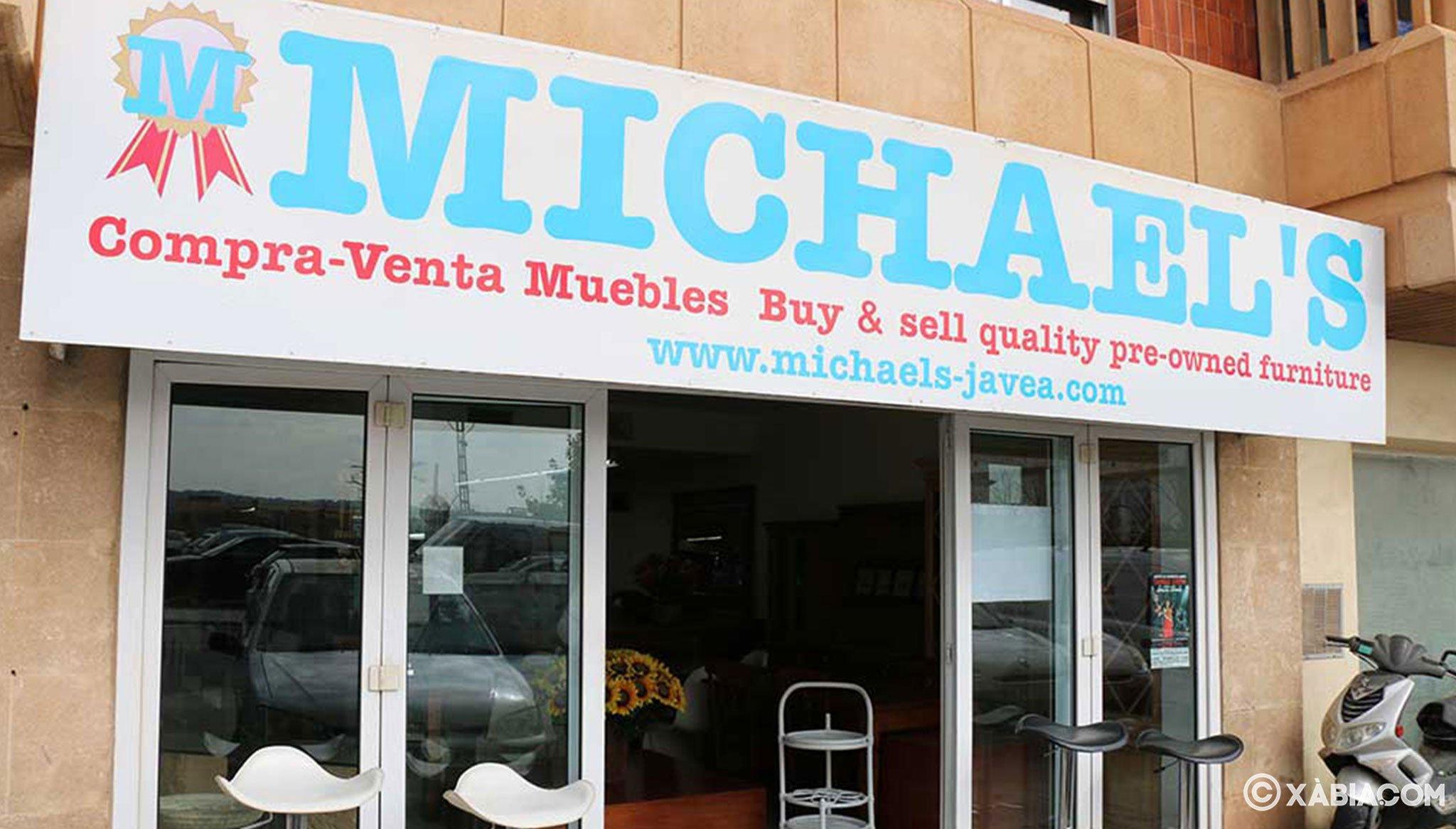 Tienda de muebles dentro del casco urbano de Jávea – MICHAEL'S