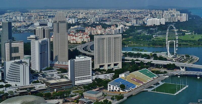 Vista de Singapur