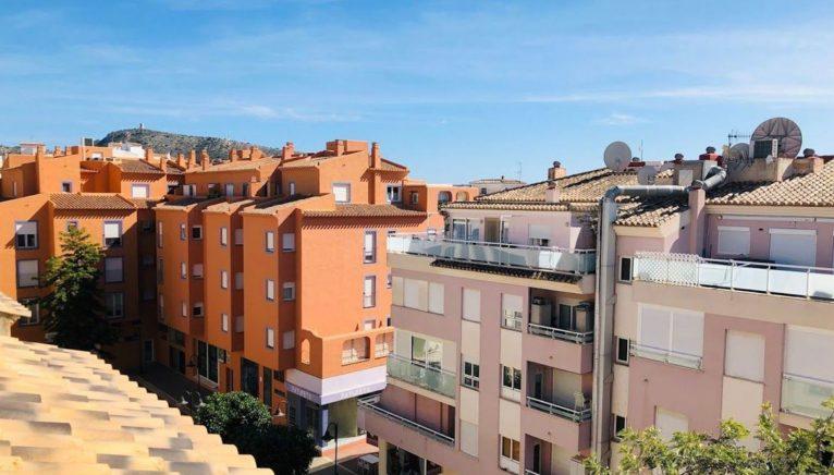 Vistas desde un ático en venta en Moraira - Mare Nostrum Inmobiliaria