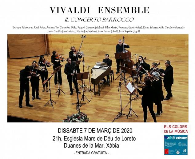 Imatge: Xàbia Vivaldi Ensemble