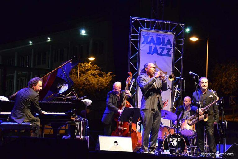 Actuación en Xàbia Jazz