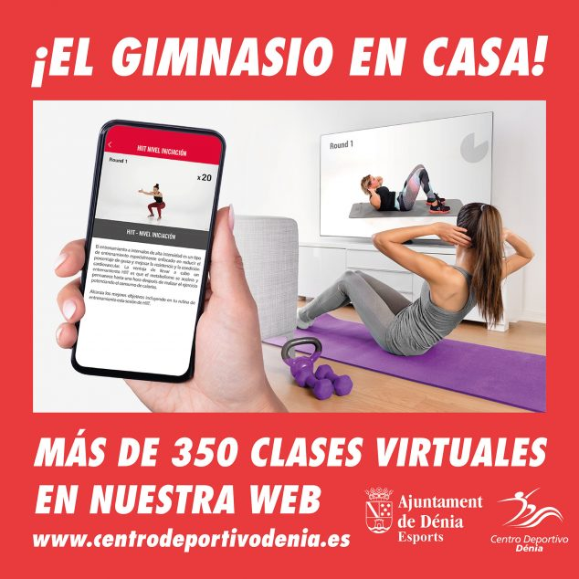 Imagen: Cartel de Centro Deportivo Dénia