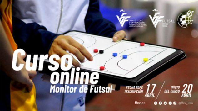 Imagen: Cartel Curso Entrenador Fútbol Sala