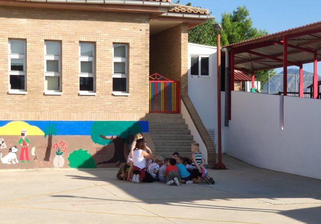 Imagen: Colegio de El Poble Nou de Benitatxell