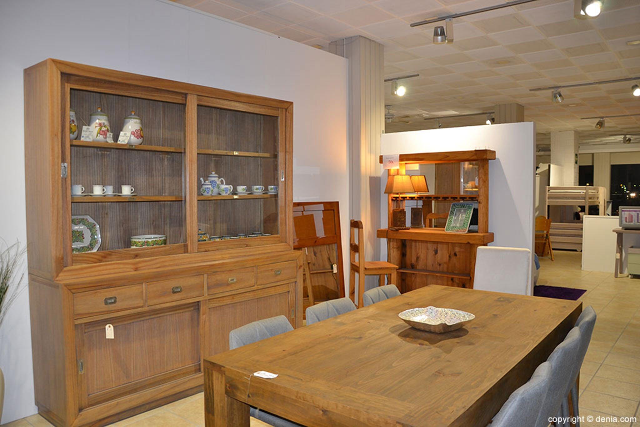 Comedor de madera – Muebles Martínez